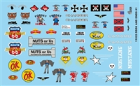 Gofer Racing Odds and Ends Decal Sheet 11022