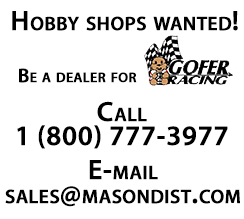 model car decals from gofer racing